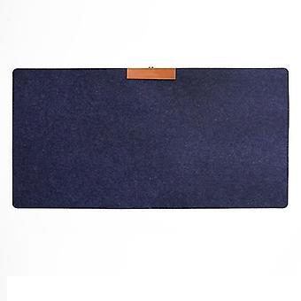 Non-slip, Wool Felt Cushion Computer Desk Mat