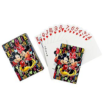 Disney Paper Spillekort-anime Magic Poker Spil
