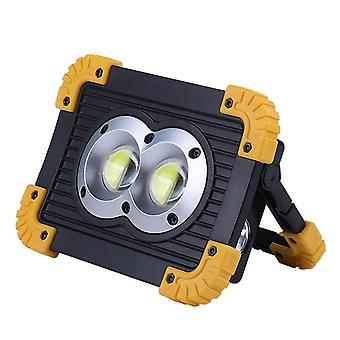 Super Bright Led Work Light Rechargeable, Portable Spotlight For Outdoor
