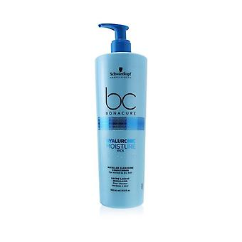 Schwarzkopf BC Bonacure Hyaluronic Moisture Kick Micellar Cleansing Conditioner (For Normal to Dry Hair) 500ml/16.9oz
