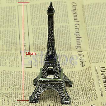 15cm Retro seos pronssi sävy Pariisin Eiffel torni
