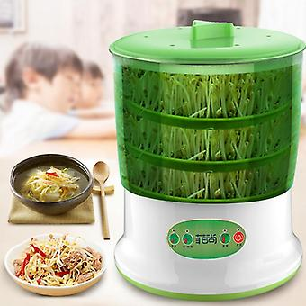 Automatic Bean Sprout Machine - 2-3 Layers With Pressure Plate Large, Capacity