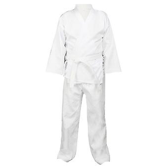 Karate Clothes Cotton-polyester Three-quarter Sleeves Tournament Adults Children