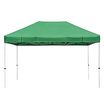 Instahibit 10x15 ft Pop Up Canopy Tent CPAI-84 Commercial Outdoor Trade Fair Canopy Shade Party Tent