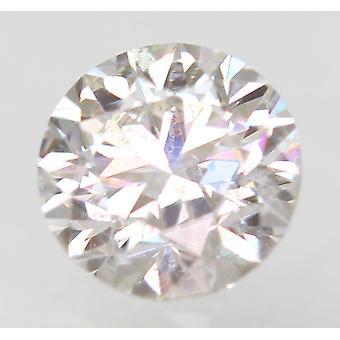 Sertifioitu 0,45 karat E VS1 pyöreä brilliant parannettu luonnollinen löysä timantti 4,86mm