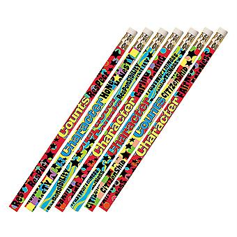 Character Matters Pencils, Pack Of 12