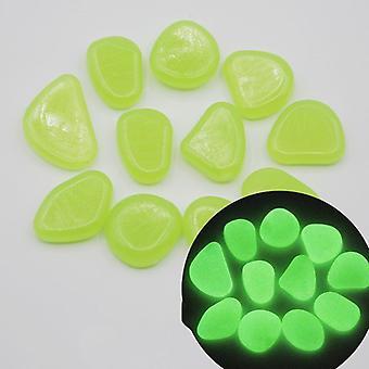 100pcs Glow Pebbles Luminous Stone