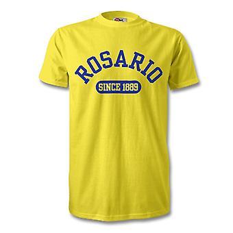 Rosario Centralista 1889 perustettu Football t-paita