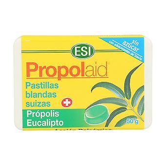 Propolaid Swiss Propolis and Eucalyptus Soft Pills 50 g