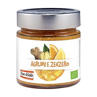 Citrus and ginger compote 250 g