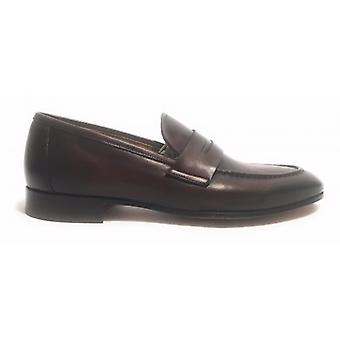 Men's Shoes Ben.ter Moccassine Moro Head Bandina Leather Bottom Handmade Us17bt13