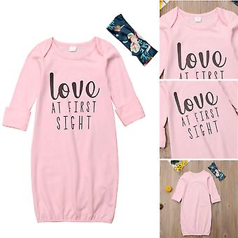 Cotton Soft Nightgowns - Sleep Wear For Newborn Baby