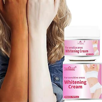 Dark Black Skin Lightening Intimate Body Lotion Crotch And Armpits Cream