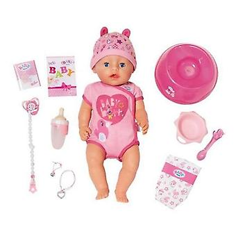 Baby doll with accessories baby born bandai