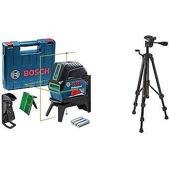 Wokex Crossline-Laser GCL 2-15 G (GCL 2-15 G; RM 1 Professional; 3x 1,5 V LR6-Batterien (AA); Gehuse