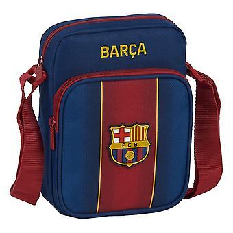 Shoulder Bag F.C. Barcelona 20/21 Maroon Navy Blue