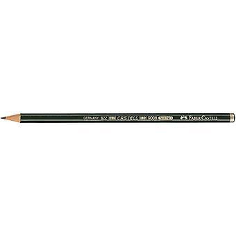 Pencil Faber-Castell 119802 Steno 9008 2B Green (Refurbished A)