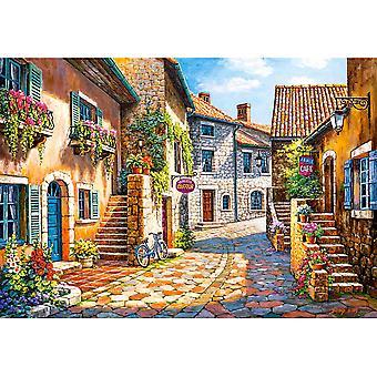 Castorland, Puzzle - Rue de Village - 1000 Pieces