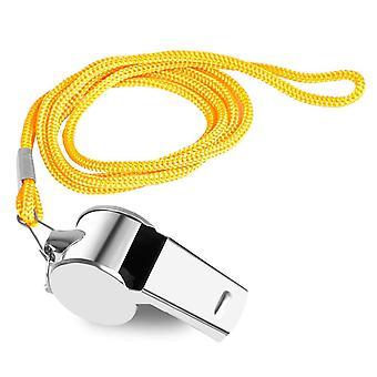 Soccer Football Whistle Police Stainless Steel