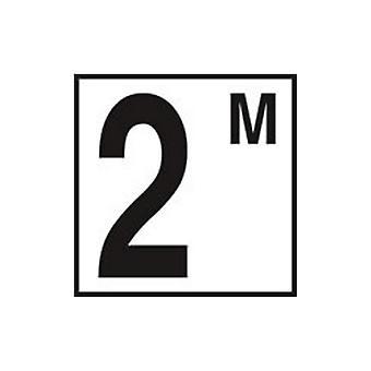 "Inlays CC623020 6"" x 6"" Metric 2 with M Printed Deck Ceramic Tile"