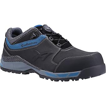 Albatros Mens Tofane Low S3 Toggle Leather Safety Trainers