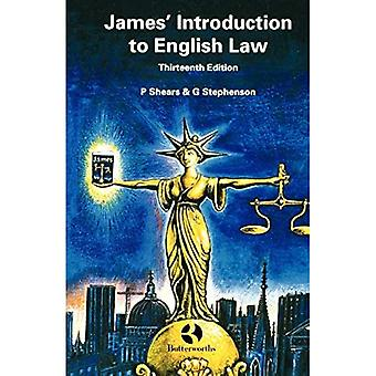 James' Introduction to English Law
