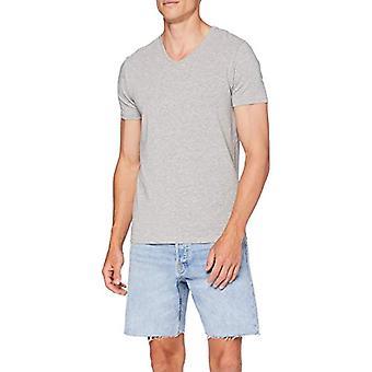 Springfield 3ba Fr Pico Lycra Mel-c/43 T-Shirt, Grey (Dark_Grey 43), Small Man