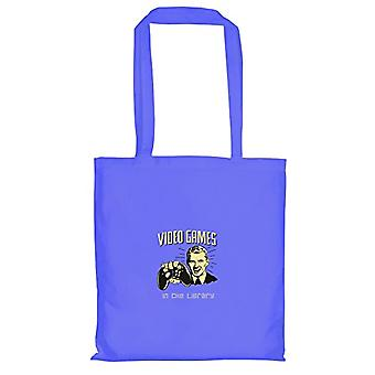 Texlab VEND-157978, Unisex Cloth Bag, Blue, 38 cm x 42 cm