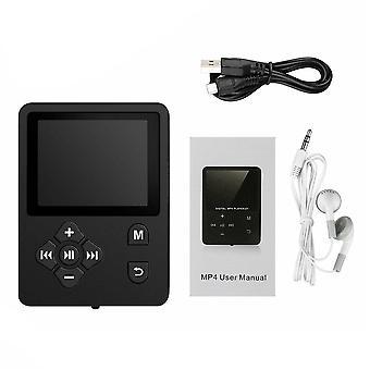 mini mp3 musikkspiller 32gb hifi bærbar walkman med radio / fm / spille inn 1.8