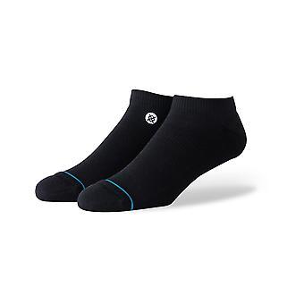 Holdning ikon lav M ingen show sokker i Blackwhite