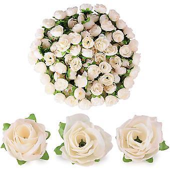 (dia: 3cm) 100st kunstmatige roos bloem hoofd bloem hoofd nep kunstmatige plant decoratie roos