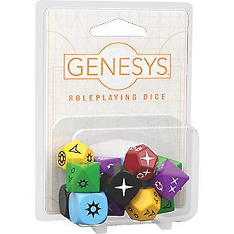 Genesys Rollenspiel Würfel Pack Brettspiel
