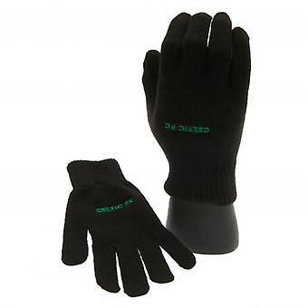 Celtic FC Knitted Junior Gloves