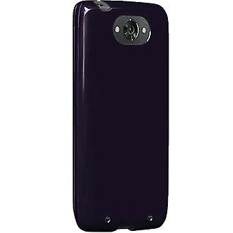 Verizon High Gloss Silicone Case for Motorola Droid Turbo XT1254 - Plum Purple