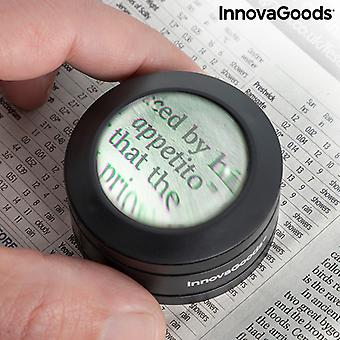 Pocket Magnifying Glass with LED Magle InnovaGoods
