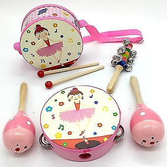 Baby Μουσικά Παιχνίδια Παιδικά Ξύλινα Νήπια Μουσικά Όργανα Εκπαιδευτικά Παιχνίδια Μάθησης (GROUP2)