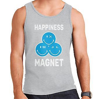 Smiley World Happiness Magnet Men's Vest