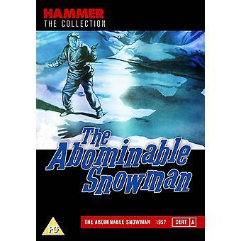 L'Abominable BONHOMME DE NEIGE DVD