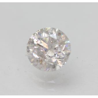Certificado 0.84 Quilates E SI2 Redondo Brilhante Brilhante Diamante Solto Natural Solto 5.78mm