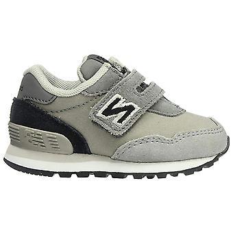 New Balance Boys' 515v1 Sneaker, Castlerock/Black, 2 W US Kleinkind