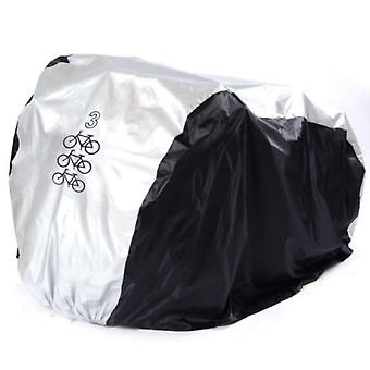 Waterproof Bike Cover Uv Snow Proof Bicycle Outdoor Rain Protective Covers For 1/2/3 Bikes