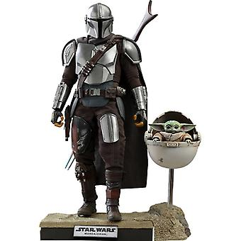 Hot Toys 1:6 The Mandalorian And The Child Deluxe Version