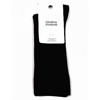 Colorful Standard Classic Organic Socks - Deep Black