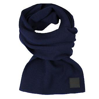 Hugo boss foxon dark blue scarf