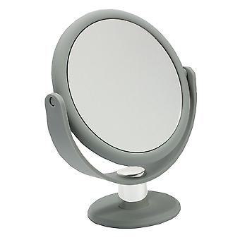 Danielle Creations Soft Touch Vanity Mirror x10 magnifying - Grey