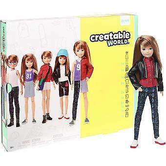 GGG53 Deluxe Charakter Kit Anpassbare Puppe, kreatives Spiel für alle Kinder ab 6 Jahren, Kupfer