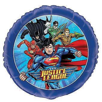 """Unique Party 49977 - 18"""" Foil Justice League Ballon"""