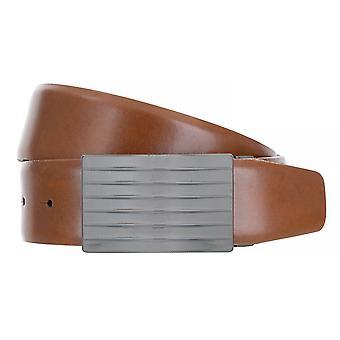 BERND GÖTZ belts men's belts leather belt Cognac 3894