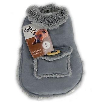 AFP Grey Padded Coat (Dogs , Dog Clothes , Coats and capes)