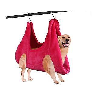 Pet Grooming Hammock Helper 2 v 1 sušiacom uteráku